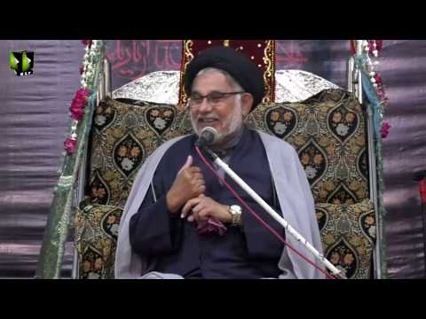 [05] Topic: Ansaar e Hussaini - انصار حسینی | H.I Hasan Zafar Naqvi | Muharram 1440 - Urdu