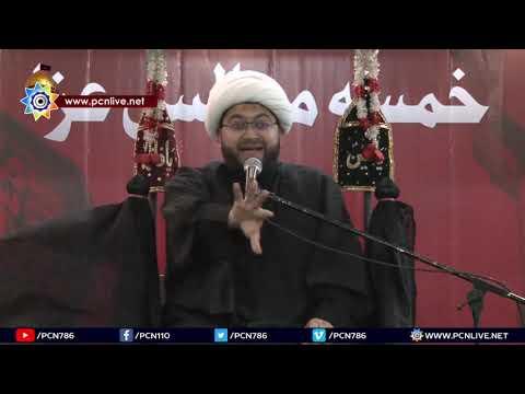 1st Majlis 16th Muharram 1440/27.09.2018 Topic:Momin Bhai Ka Haq Kaisay Ada Karain? By H I Sajid Hussain Vakil-Urdu