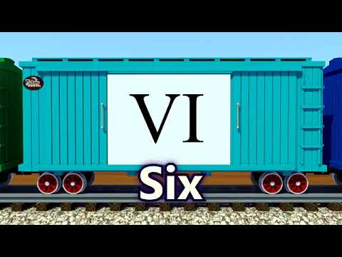 [Educational Videos] Counting Roman Numerals Class KG- Englsih