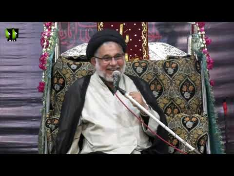 [07] Topic: Ansaar e Hussaini - انصار حسینی | H.I Hasan Zafar Naqvi | Muharram 1440 - Urdu