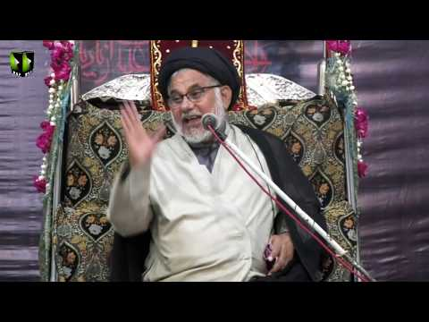 [08] Topic: Ansaar e Hussaini - انصار حسینی | H.I Hasan Zafar Naqvi | Muharram 1440 - Urdu