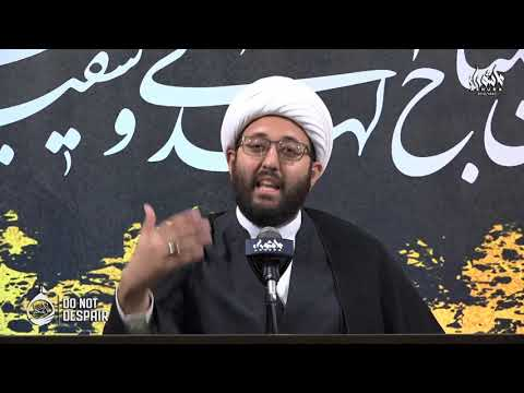 [Night 4] Passing Small Tests, the Key to Passing Big Ones | Shaykh Amin Rastani | Ashura Dearborn MI USA 2018 | English