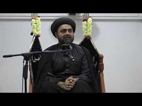 Majlis-E-Aza Shab 25th Muharram 1440/10.10.2018 Shahadat Imam Zain Ul Abideen a.s By H I Syed Mohammad Ali Naqvi-Urdu