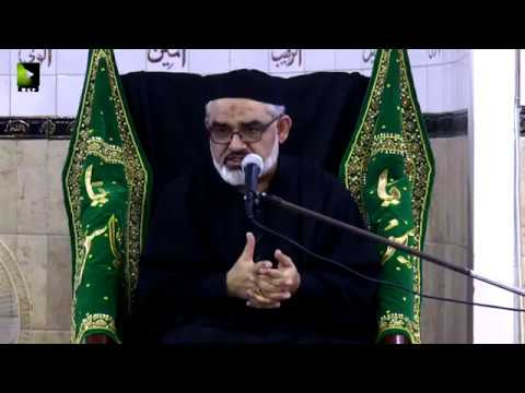 [3] Topic: معاشرے کے رسم و رواج اور نصرتِ امامِ زمانہؑ   H.I Ali Murtaza Zaidi - Urdu
