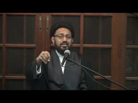 [1] Topic: Irfan-e-Sadiq Or Irfan-e-Kazib | H.I Sadiq Raza Taqvi | Muharram 1440/2018 - Urdu