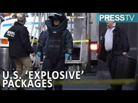 [25 October 2018] Explosive devices sent to Obama, Clinton: US Secret Service - English