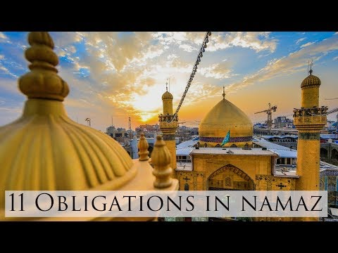 Spiritual Journey | EP4 | 11 Obligations in Namaz | by Maulana Ali Raza Rizvi 2018 - Urdu