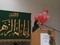 CASMO World Womens Day 2009 - Birthday of Hazrat Fatima SA - Youth speaker sister Mohadisa - English