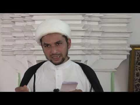 Khutba-e-Juma : 16-11-2018 : Moulana Agha Munawer Ali - urdu