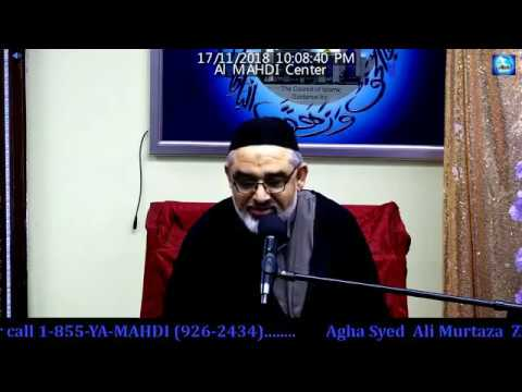 [Mehfil Eid-e-Zahra (s.a)] Maulana Ali Murtaza Zaidi -  9 Rabi\'ul awwal 1440 2018-Urdu