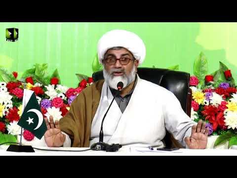 Symposium   Quaid O Iqbal ka Pakistan Kaisay Banaya Ja Sakta Hai?   Mol. Raja Nasir - Urdu