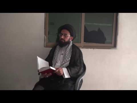 [Dars 1] Imam Shanasi - امام شناسی   H.I Sadiq Raza Taqvi - Urdu
