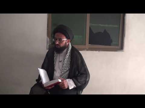[Dars 2] Imam Shanasi - امام شناسی   H.I Sadiq Raza Taqvi - Urdu