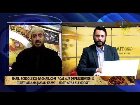 TIB E AHLEBAIT pbut AQAL O DEPRESSION EP11 FAMILY PROBLEMS By Molana Syed Jan Ali Kazmi -Urdu
