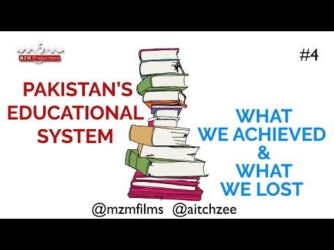 Season 1 Episode 4(ENGLISH) Educational System of Pakistan What We Achieved and What We Lost - English