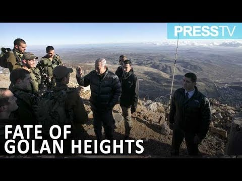 [14 March 2019] Israel seeking US recognition of its claim to Golan Heights - English