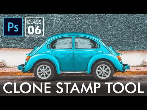 Clone Stamp Tool - Adobe Photoshop for Beginners - Class 6 | Urdu Hindi