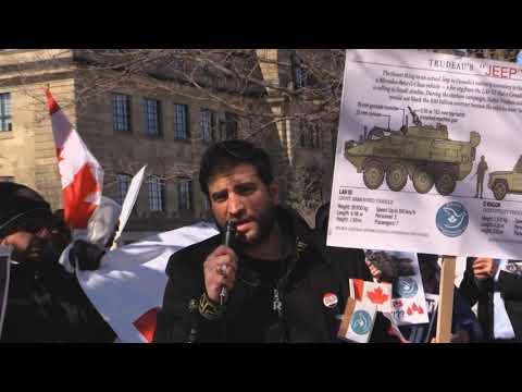 Ottawa Mark 4th year of Saudi war on Yemen: Br. Firas Al Najim CD4HR at Global Affairs Canada -English