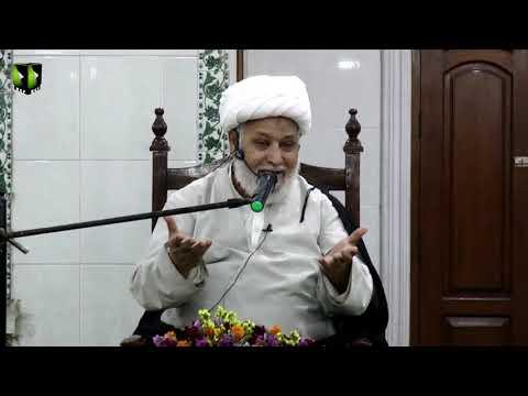 [Dars-e-Ikhlaaq 3 ] Topic: نوجوانوں کے اخلاقی مسائل    H.I Ghulam Abbas Raesi - Urdu