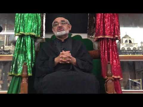 Majlis 28th Rajab 1440 Hijari 4th April 2019 By Allama Agha Sayed Ali Murtuza Zaidi - Urdu