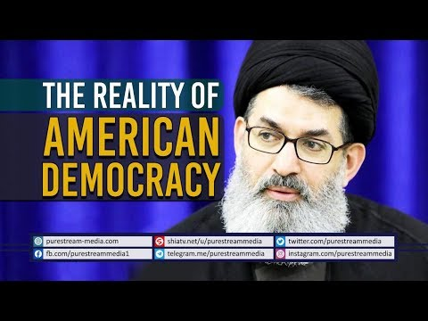 The Reality of American Democracy | Sayyid Hashim al-Haidari | Arabic Sub English