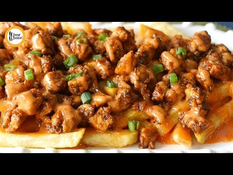 [Quick Recipe] Dynamite loaded fries (Ramzan Special Recipe) - English Urdu