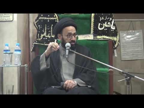 [Majlis] Wilayat-e-Ali (as) Say Inheraaf   H.I Sadiq Raza Taqvi - Urdu