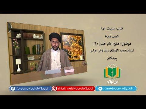 کتاب سیرت ائمہؑ [6] | صلح امام حسنؑ (3) | Urdu