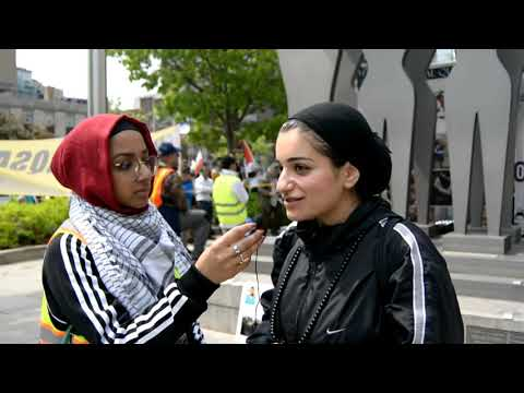 [Interview] Sister Naseem Asghari | Annual Walk for Al Quds 2019 | Toronto, Canada - English