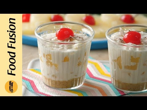 [Quick Recipes] Pineapple Cream Dessert - English Urdu