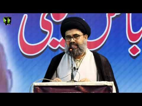 [Majlis-e-Tarheem] Essal-e-Sawab Allama Dr. Abbas Kumaili   Speech: H.I Ahmed Iqbal - Urdu