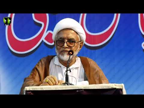 [Majlis-e-Tarheem] Essal-e-Sawab Allama Dr. Abbas Kumaili   Speech: H.I Mirza Yousuf Hussain - Urdu