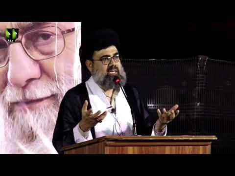 [Markazi Majlis Chelum Wa Barsi]  H.I Ahmed Iqbal Rizvi   13 July 2019 - Urdu
