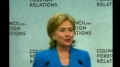 Hillary Clinton admits that the CFR runs the Government-English