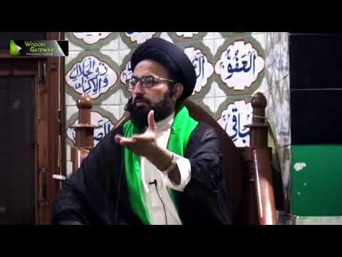 [03] Topic: Baserat, Istiqamat, Marfat, Or Nusrat e Imam   H.I Sadiq Taqvi - Urdu