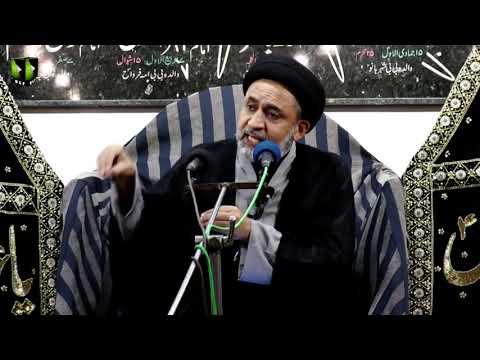 [01] Topic: Quran, Karbala Or Ham | H.I Muhammad Haider Naqvi | Muharram 1441 - Urdu