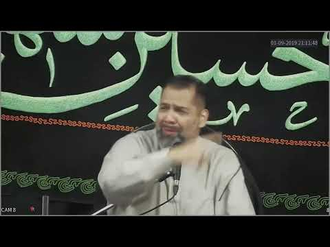 [2nd Night] Topic: Less is more in a culture of Extravagant spendin |Br. Syed Asad Jafri | Muharram 1441/2019 - English