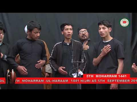 MAJLIS-E-AZADARI IMAM HUSSAIN UNDER THE BANNER OF IKMT KGL 5TH MOHRM   Kargili
