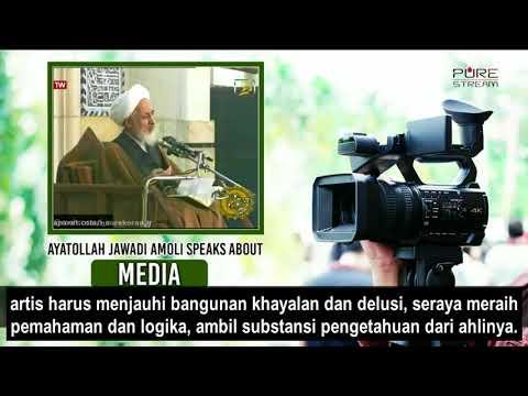 Ayatullah Jawadi Amuli: Media adalah Bahasa Kaum Zaman Now | Farsi sub Bahasa Indonesia