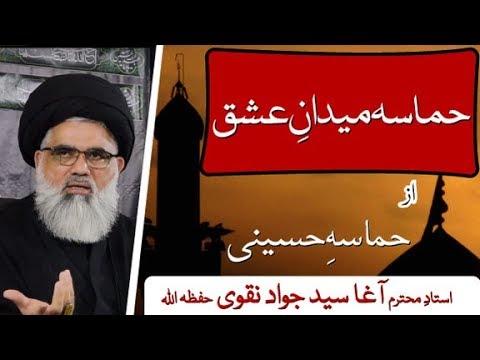 [Clip 03] Topic:Hamasa e Hussaini | Hamasa Medan e Ishq  Ustaad Jawad Naqvi 2019 Urdu