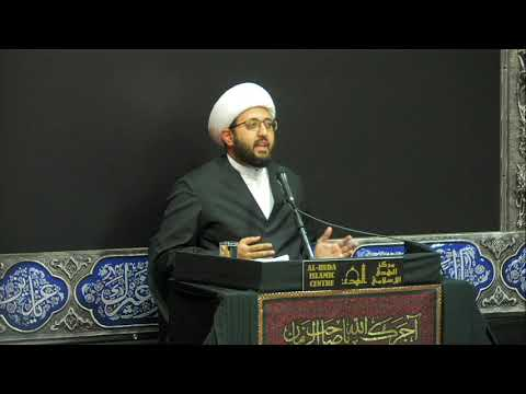 [Night 6] Topic: Love of Ahlul Bayt A.S Sheikh Amin Rastani - Muharram 1441/2019 English