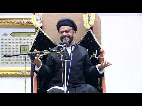 7th Majlis Shab 7th Muharram 1441/06.09.2019 Topic:Challenges Faced By Today\'s Youth I HI Syed Mohammad Zaki Baqri-Urdu