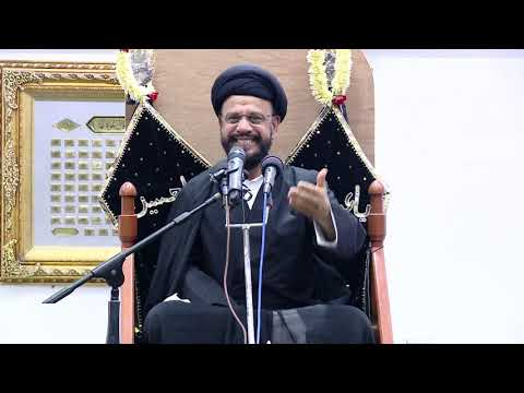 8th Majlis Shab 8th Muharram 1441/07.09.2019 Topic:Challenges Faced By Today\'s Youth I HI Syed Mohammad Zaki Baqri-Urdu