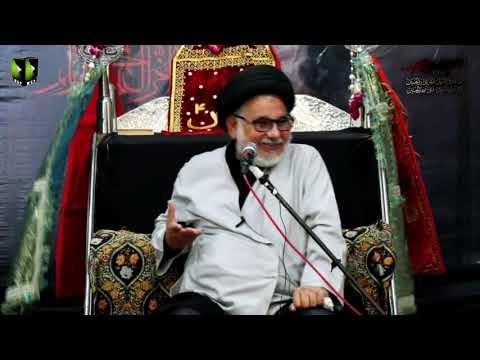 [01] Topic: Marjaeyat , Masomeen (as) ke Nigah May | H.I Hasan Zafar Naqvi | Muharram 1441/2019 - Urdu