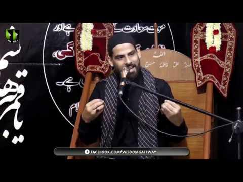 [04] Topic: Insaan, Rushd (Taraqi) Aur Saqoot (Halakat) | Moulana Mubashir Zaidi | Muharram 1441 - Urdu