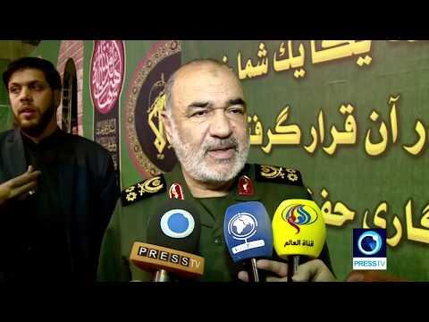 [01/10/19] Salami: Iran capable of offense, resistance - English
