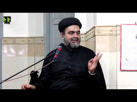 [08] Topic: Mojizaat Imam Hasan (as) Or Tarekh e Azwaaj e Masoom   H.I Muhammad Ali Naqvi - Urdu