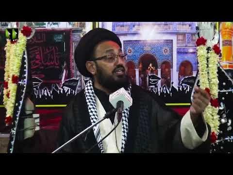 [09] Topic: Imam (aj) kay Liey Tayyari Or Rouhani Rabta   H.I Sadiq Taqvi   Safar 1441 - Urdu