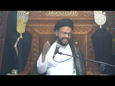 3rd Majlis Ashra-E-Zainabia s.a Shab 14th Safar 1441/12.10.2019 Topic:Critical Thinking-HI Syed Muhammad Zaki Baqri-Urdu