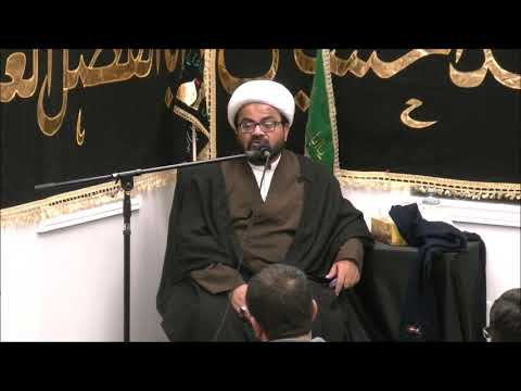 Majlis Muharram 1441 Hijari 2019 By Allama Muhammad Raza Dawoodani at Lady Fatimah S.A Center Canada-Urdu